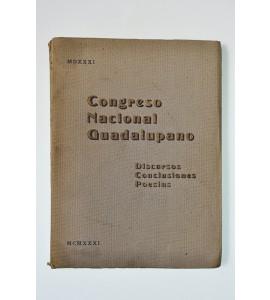 Memoria del Congreso Nacional Guadalupano