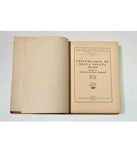 Epistolario de Nueva España 1505-1818 (ABAJO CH)