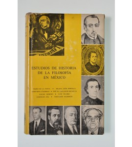 Estudios de historia de la filosofía en México