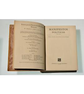 Manifiestos políticos (1892-1912)
