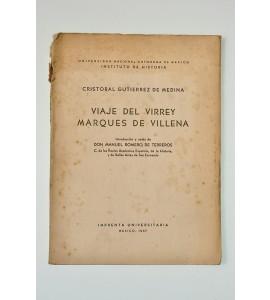 Viaje del Virrey Marqués de Villena *