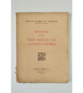 Bocetos de la vida social en la Nueva España (ABAJO CH)