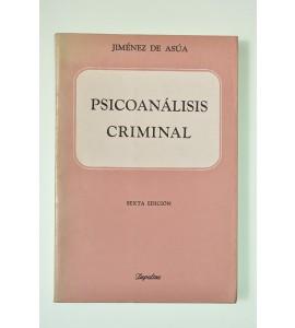 Psicoanálisis criminal