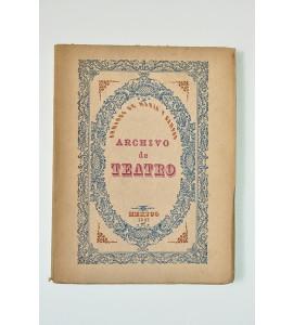 Archivo de teatro