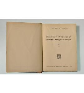 Diccionario Biográfico de Historia Antigua de Méjico
