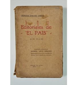 Editoriales de El País en 1910, 1911 y 1912 *
