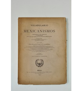 Vocabulario de mexicanismos