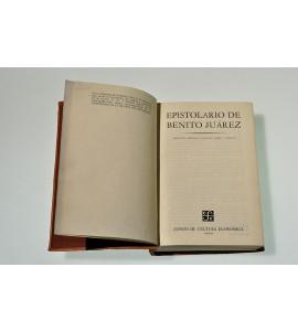 Epistolario de Benito Juárez