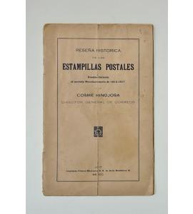 +Reseña histórica de las estampillas postales usadas durante el periodo revolucionario de 1913-1917 *