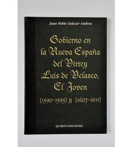 Gobierno en la Nueva España del virrey Luis de Velasco, el Joven (1590-1595) y (1607-1611) (ABAJO CH)