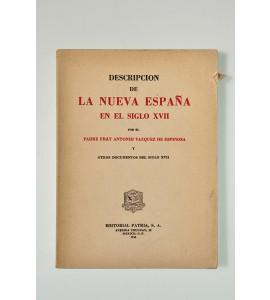 Descripción de la Nueva España en el siglo XVII (ABAJO CH)
