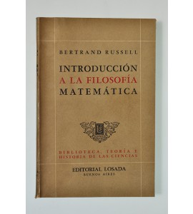 Introducción a la filosofía matemática*