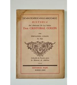 Historia del almirante de las Indias Don Cristóbal Colón