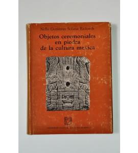 Objetos ceremoniales en piedra de la cultura mexica (ABAJO CH)