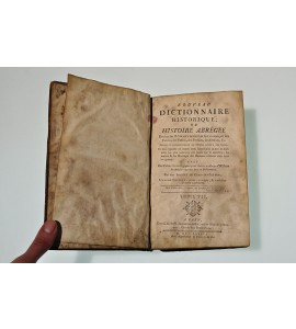 Nouveau dictionnaire historique ou histoire abrégée