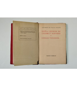 Doña Leonor de Cáceres y Acevedo y cosas tenedes..*