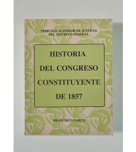 Historia del Congreso Constituyente de 1857