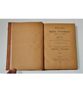 Historia del Congreso Extraordinario Constituyente de 1856 y 1857 *