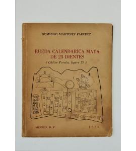Rueda calendarica Maya de 23 dientes