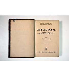 Derecho penal conforme al nuevo Código Penal, texto refundido de 1944.