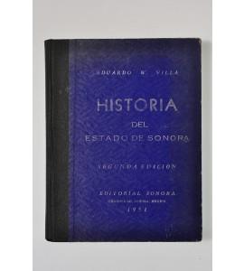 Historia del Estado de Sonora