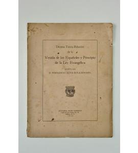 Décima Tercia Relación de la Venida de los Españoles y Principio de la Ley Evangélica