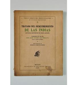 Tratado del descubrimiento de Las Indias (Noticias Históricas de Nueva España) (ABAJO CH)