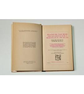 Relación del viaje hecho por las goletas Sutil y Mexicana en el año de 1792