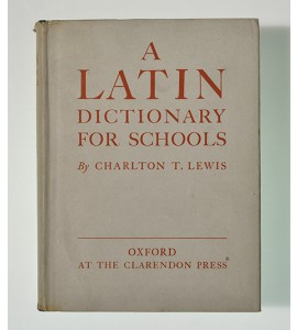 A latin dictionary for schools *