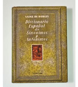 Diccionario español de sinónimos y antónimos