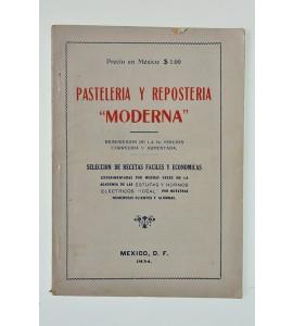 Pastelería y repostería moderna *