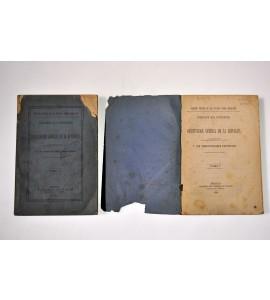 Colección que comprende la Constitución General de la República y las Constituciones Especiales.