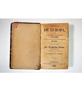 Historia de Europa desde el principio de la Revolución Francesa en 1789 hasta la Restauración de los Borbones en 1815.