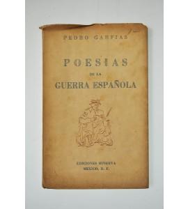 Poesías de la guerra española *