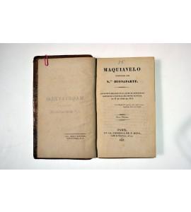 Maquiavelo comentado por N. Buonaparte