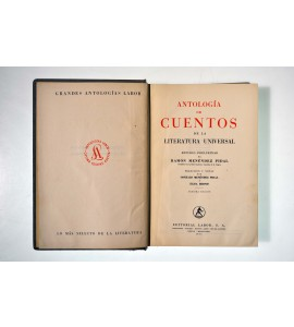 Antología de cuentos de la literatura universal