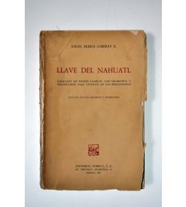 Llave del náhuatl * (ABAJO CH)