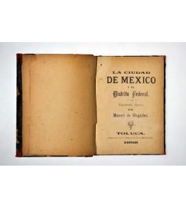 La Ciudad de México y el Distrito Federal. Toponimia azteca.