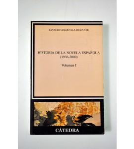 Historia de la novela española (1936-2000)