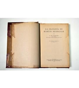La filosofía de Martín Heidegger
