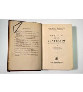 Estudio de los contratos en nuestro derecho civil