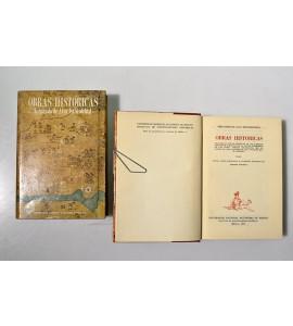 Obras históricas de Don Fernando de Alva Ixtlilxóchitl (ABAJO CH)