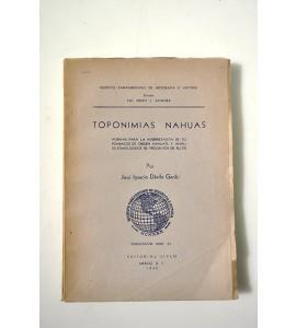 Toponimias nahuas (ABAJO CH)