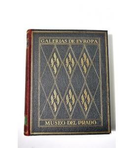 Álbum de la galería de pinturas del Museo del Prado Madrid