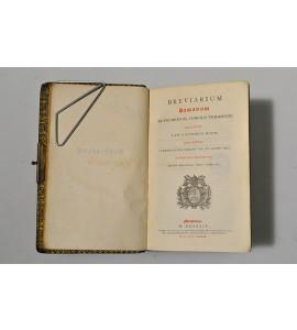 Breviarium romanum ex decreto ss. concilii tridentini restitutum, S. PII V. Pontificis Maximi jussu editum, Clementis VIII, Urbani VIII et Leonis XIII.