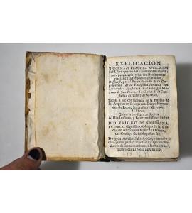 Explicación theorica y practica aplicación del Libro quarto del Contemptus mundi; para prepararte y dar fructuosamente gracias en la frequente comunion. *