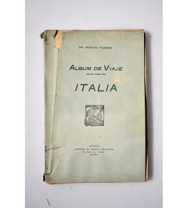 Álbum de viaje. Hojas sueltas. Italia.
