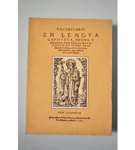 Vocabulario en lengua (c)zapoteca *