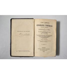 Curso completo de geografía universal antigua y moderna o descripción de la tierra