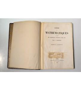 Cours de mathématiques a l´usage des architectes, ingénieurs civil, etc.